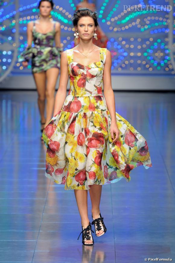 Défilé Dolce & GabbanaMilan Printemps-Eté 2012