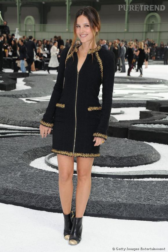 La belle Virginie Ledoyen sera probablement chez Chanel cette année encore.