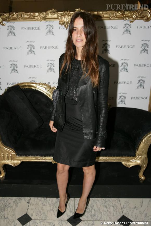 Actrice et mannequin, Joana Preiss fait mouche aux défilés Balenciaga et Yves Saint Laurent.