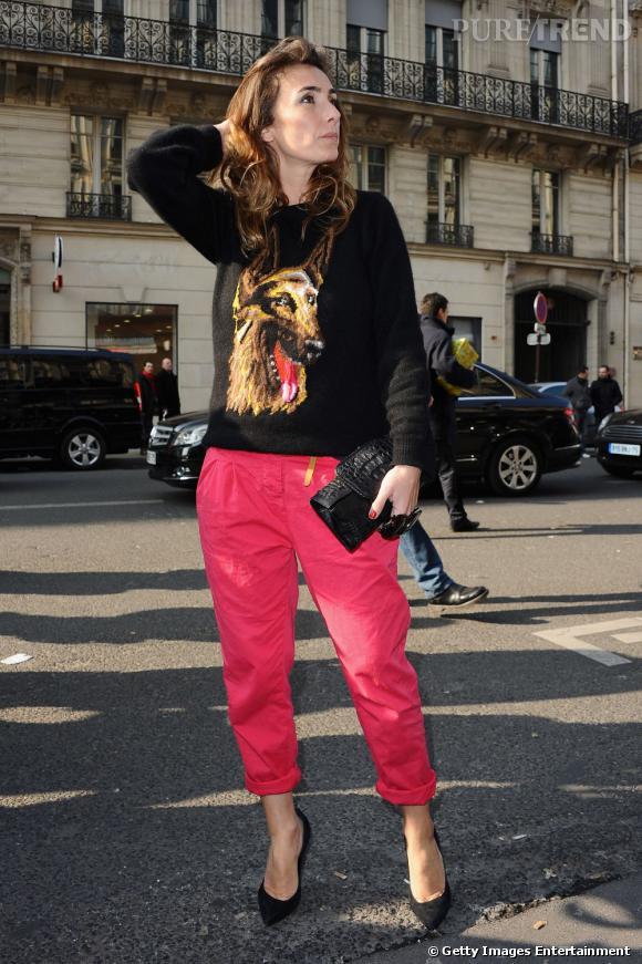 Mademoiselle Agnès, prêtresse de la mode française chic, ne loupe aucune Fashion Week parisienne.
