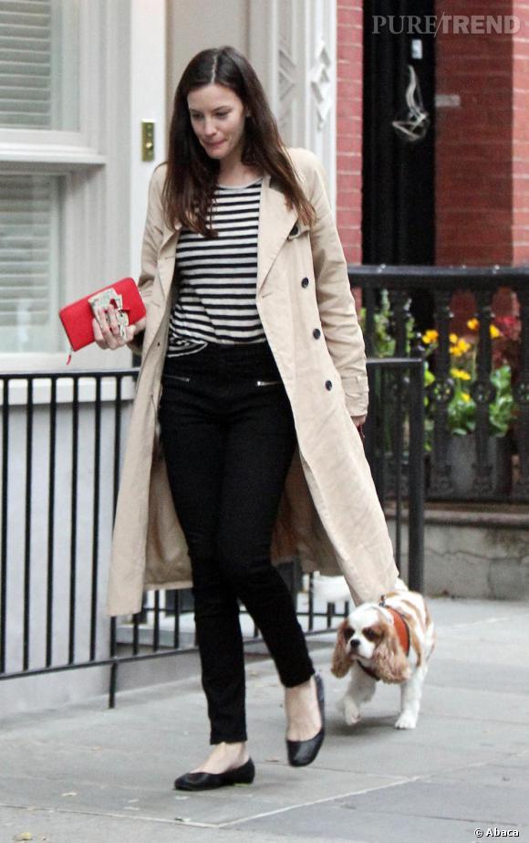 Liv Tyler dans les rues de New York.