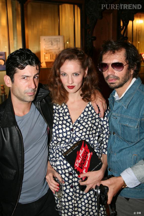 André, Jennifer Eymere et Olivier Zham
