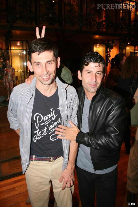 Gildas Loaec et André