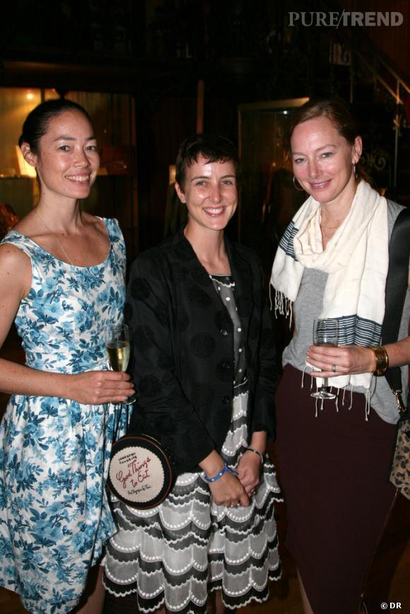 Cecilia Dean, Sarah Andelman et Anne Christensen