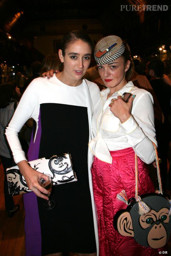 Natacha Ramsay et Olivier Zham