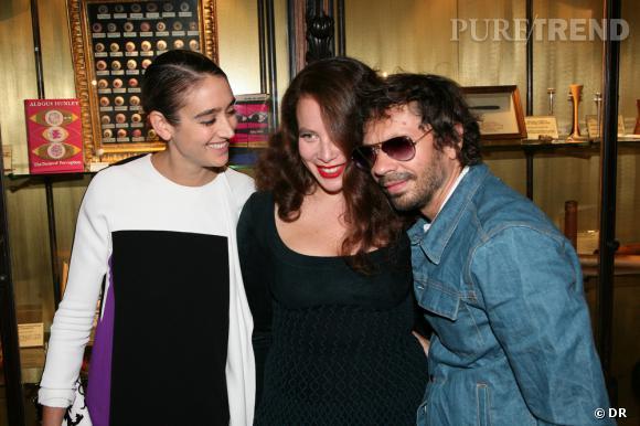 Natacha Ramsay, Olympia Le-Tan et Oliver Zham