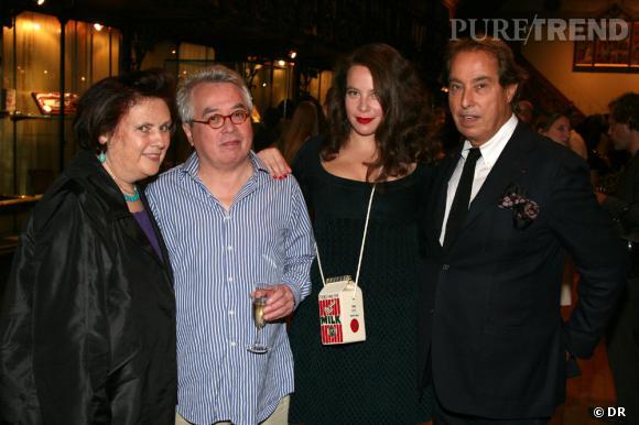Suzy Menkes, Pierre et Olympia Le-Tan, Gilles Dufour