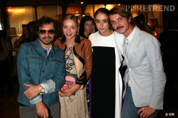 Olivier Zham, Charlotte Chesnais, Natacha Ramsay et Elie Top