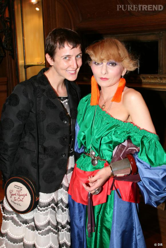 Sarah Andelman et Catherine Baba
