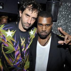 Riccardo Tisci et Kanye West