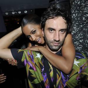 Ciara et Riccardo Tisci