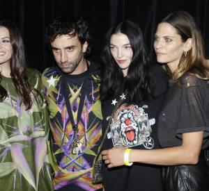 Liv Tyler, Riccardo Tisci, Mariacarla Boscono