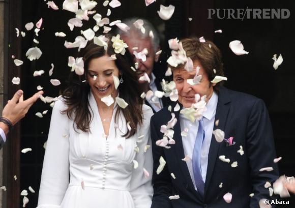 Paul McCartney et Nancy Shevell, Just Married !