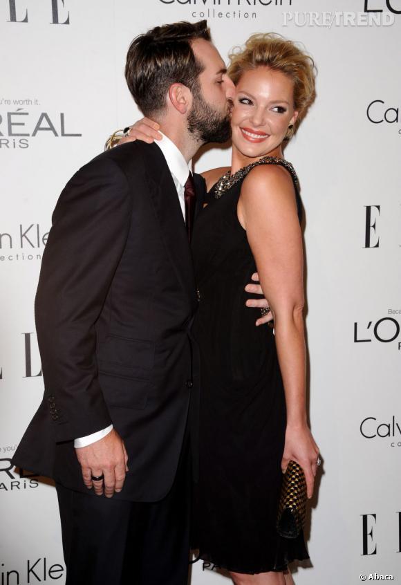 Katherine Heigl et son boyfriend Josh Kelley.