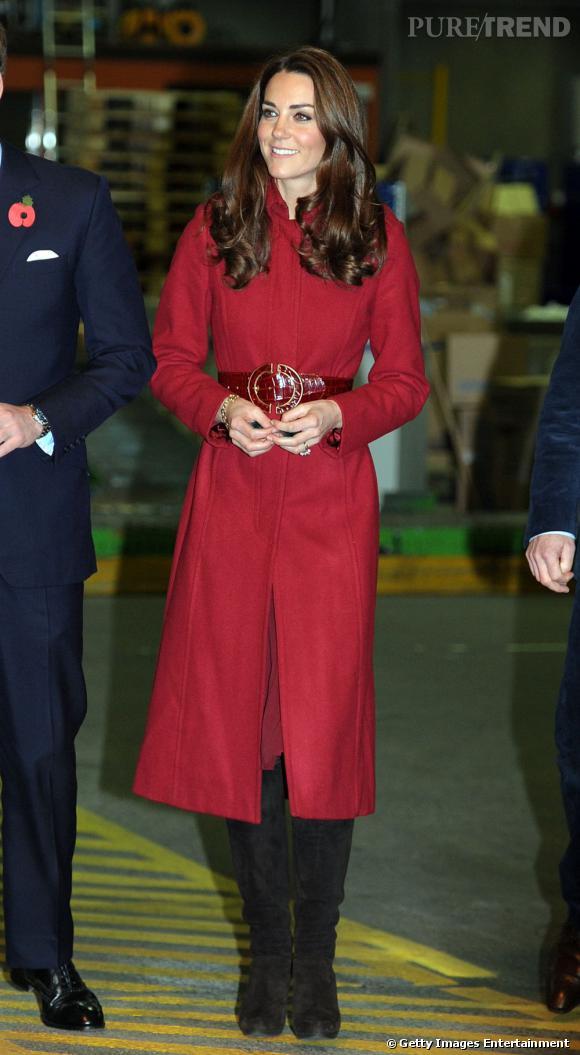 Kate Middleton en LK Bennett.