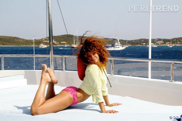 Rihanna, une touriste comme les autres, c'était mercredi.