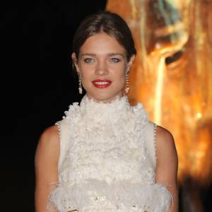 Natalia Vodianova portant une robe Givenchy Couture.
