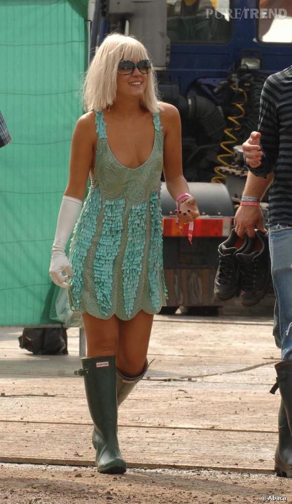 Quand Lily Allen sort de chez elle, ça peut faire mal aux yeux.