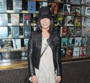 Jessica Szohr, d'humeur rock'n'roll... A shopper !