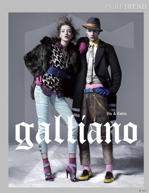 Un e-shop pour Galliano.
