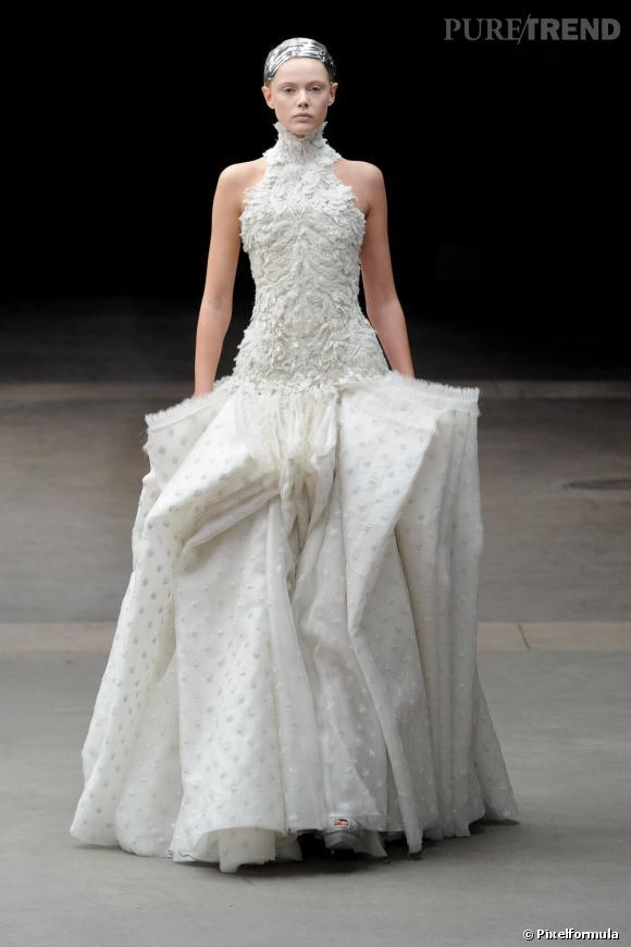Je veux une robe de mari e haute couture alexander for Alexander mcqueen robe de mariage