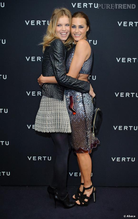 Eva et le mannequin Yasmin Le Bon.