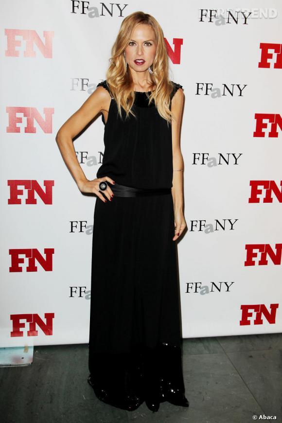 Rachel Zoe à son arrivée aux Footwear News Achievement Awards 2011.