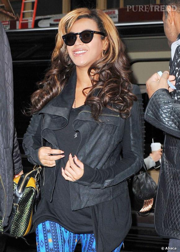 Beyonce : son look androgyne en balade dans les rues de New York.