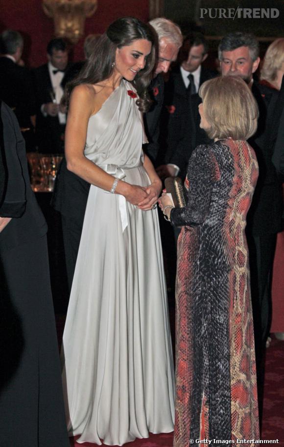 Kate Middleton élue la personnalité la mieux élevée de l'année 2011.