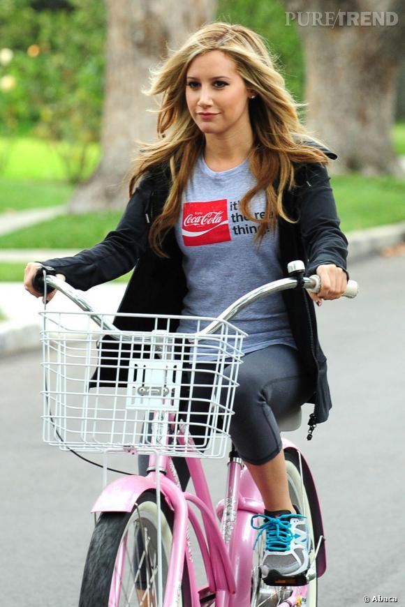 Ashley Tisdale, une sportive hors du commun.