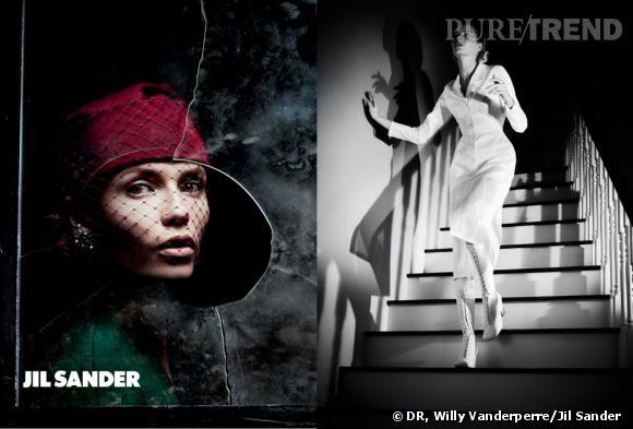 Campagne Jil Sander, Printemps-Eté 2012.