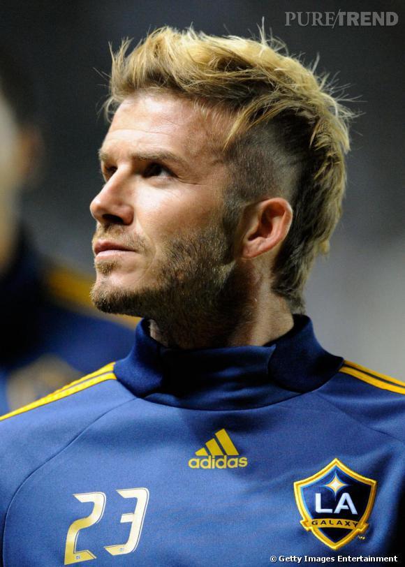 David Beckham version punk.