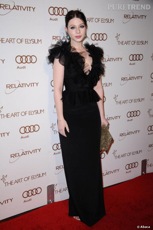 Michelle Trachtenberg au gala anniversaire de la fondation Art of Elysium à Los Angeles.