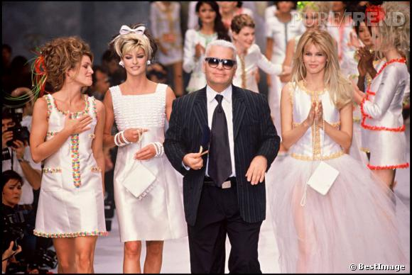 Sa mère a défilé pour les plus grands comme Chanel aux côtés de Linda Evangelista et Claudia Schiffer.