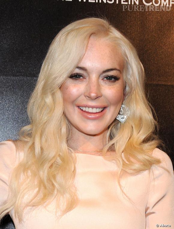 Après :  Lindsay Lohan, 25 ans, a perdu un brin de fraicheur.