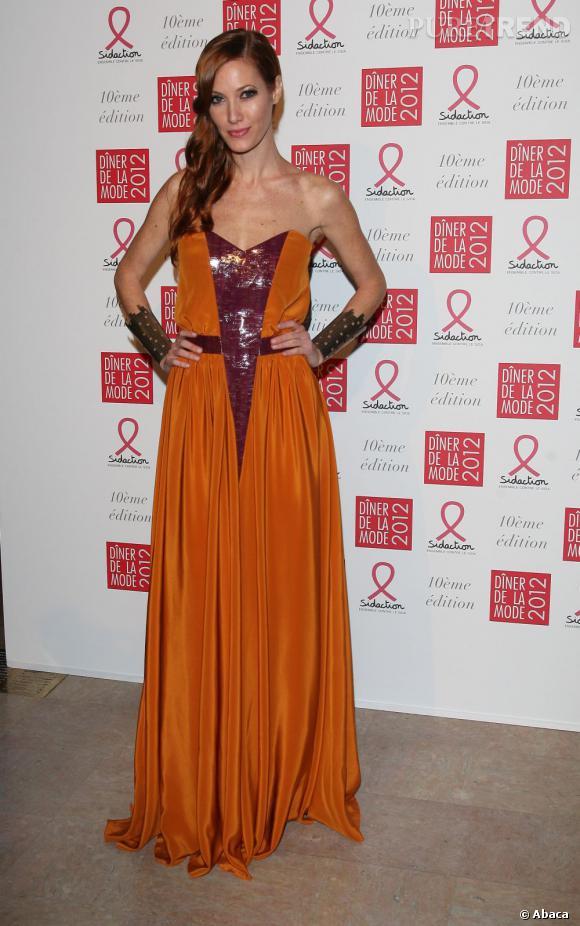 Mareva Galanter au Dîner de la Mode 2012.