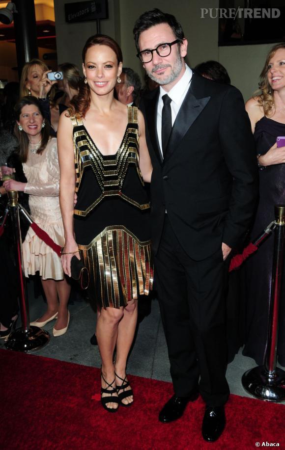 Tendance charleston pour Bérénice Bejo accompagné de son compagnon Michel Hazanavicius.