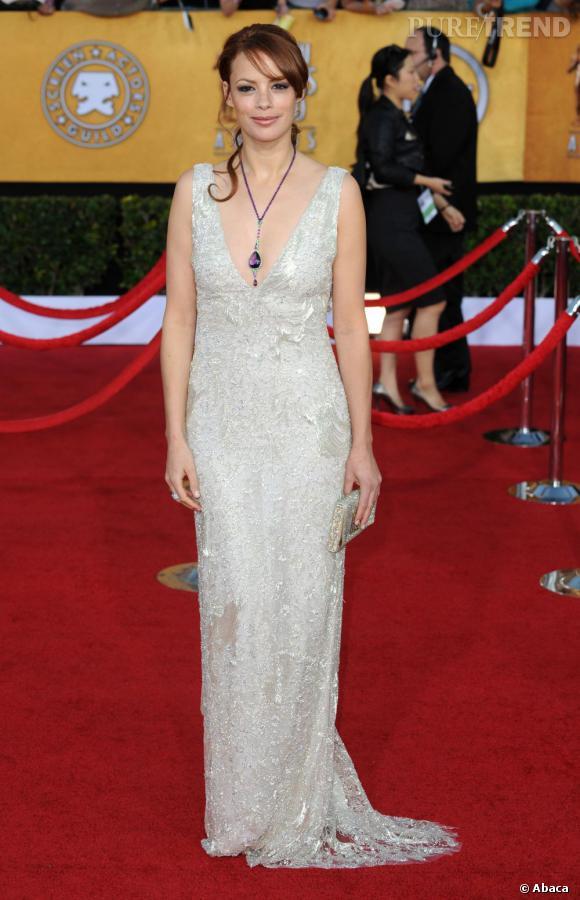 Lors des derniers Screen Actors Guild Awards, Bérénice Bejo est resplendissante en Ralph Lauren.