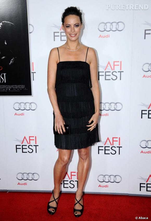 Le look charleston, elle adore. Bérénice Bejo le maitrise sur le bout des doigts sur le tapis rouge.