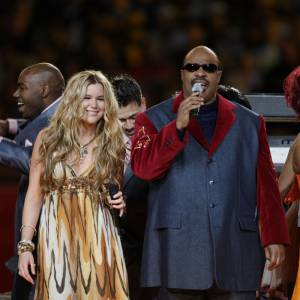 La même année toujours, Joss Stone et Stevie Wonder ont ouvert le bal.
