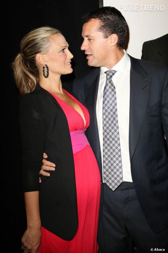 Molly Sims et Scott Stuber, son mari.