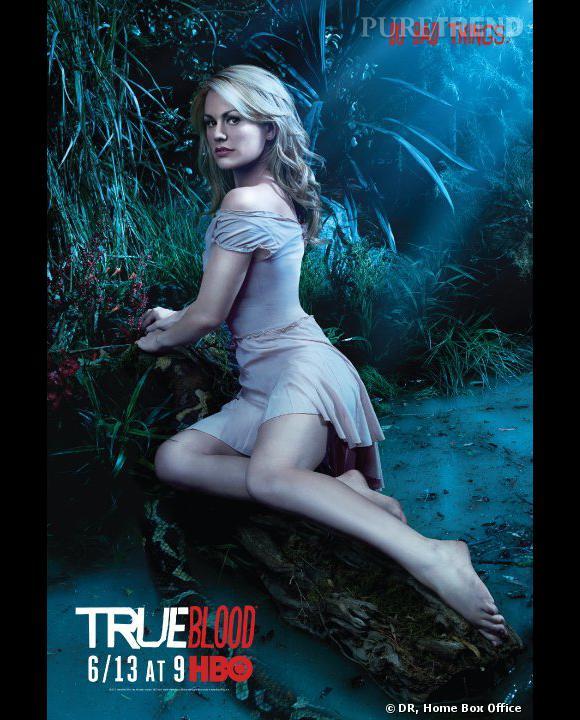 """N°7 :  Anna Paquin alias Sookie Stackhouse, une autre serveuse sexy, cette fois-ci dans """"True Blood""""."""