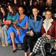 Jolie brochette chez Tracy Reese avec Shenae Grimes, Louise Roe, Selita Ebanks, Kate Mara et Nikki Reed.