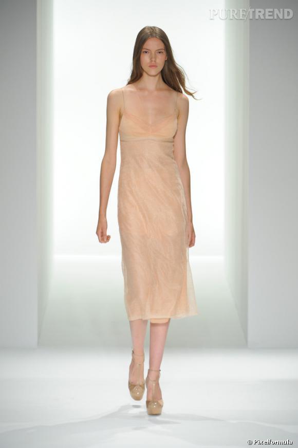 Défilé Calvin Klein Collection, Printemps-Eté 2012.