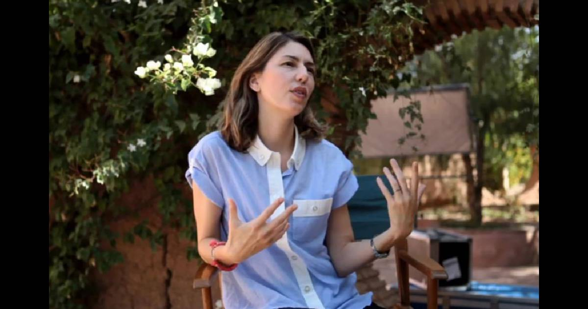 sofia coppola dans le making of du tournage de la campagne pub de la collection marni pour h m. Black Bedroom Furniture Sets. Home Design Ideas