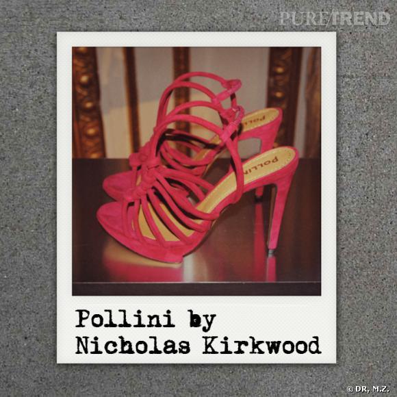 Présentation de la collection Pollini by Nicholas Kirkwood Automne-Hiver 2012/2013.
