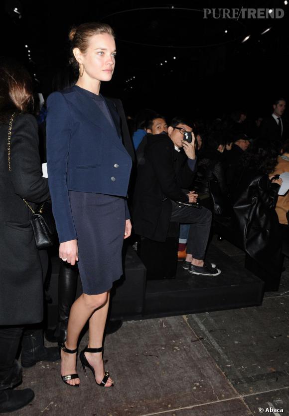 Natalie Vodianova au défilé Givenchy.