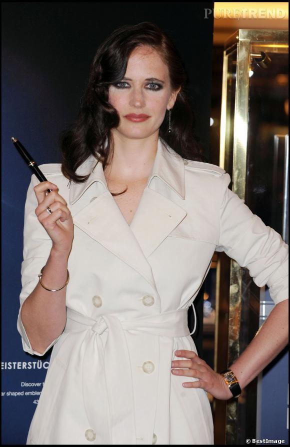 Eva Green, tendance dark pour le Midnight Poison en 2007.