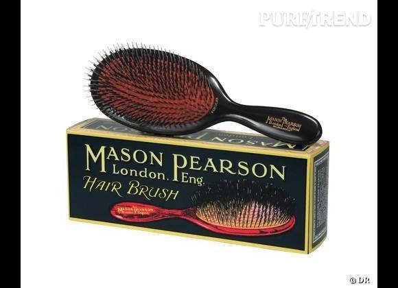 La célèbre Mason & Pearson est la star des brosses.