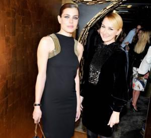 Charlotte Casiraghi et Frida Giannini à la soirée Gucci au Silencio.